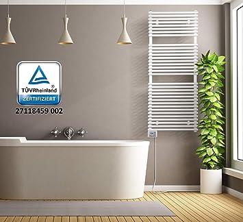 Calentador de toallas-toalla-eléctrico-calefacción baño-Bad-800-vatios - OKO-500 - X-1274: Amazon.es: Hogar