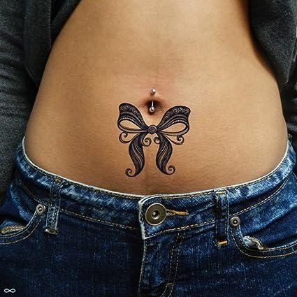 Tatuaje Temporal de Lazo de encaje (2 Piezas) - www.ohmytat.com ...