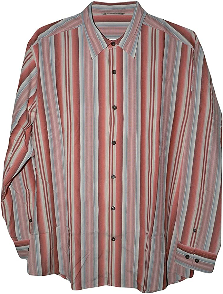 Tommy Bahama Long Sleeve Boulevard Silk Camp Shirt
