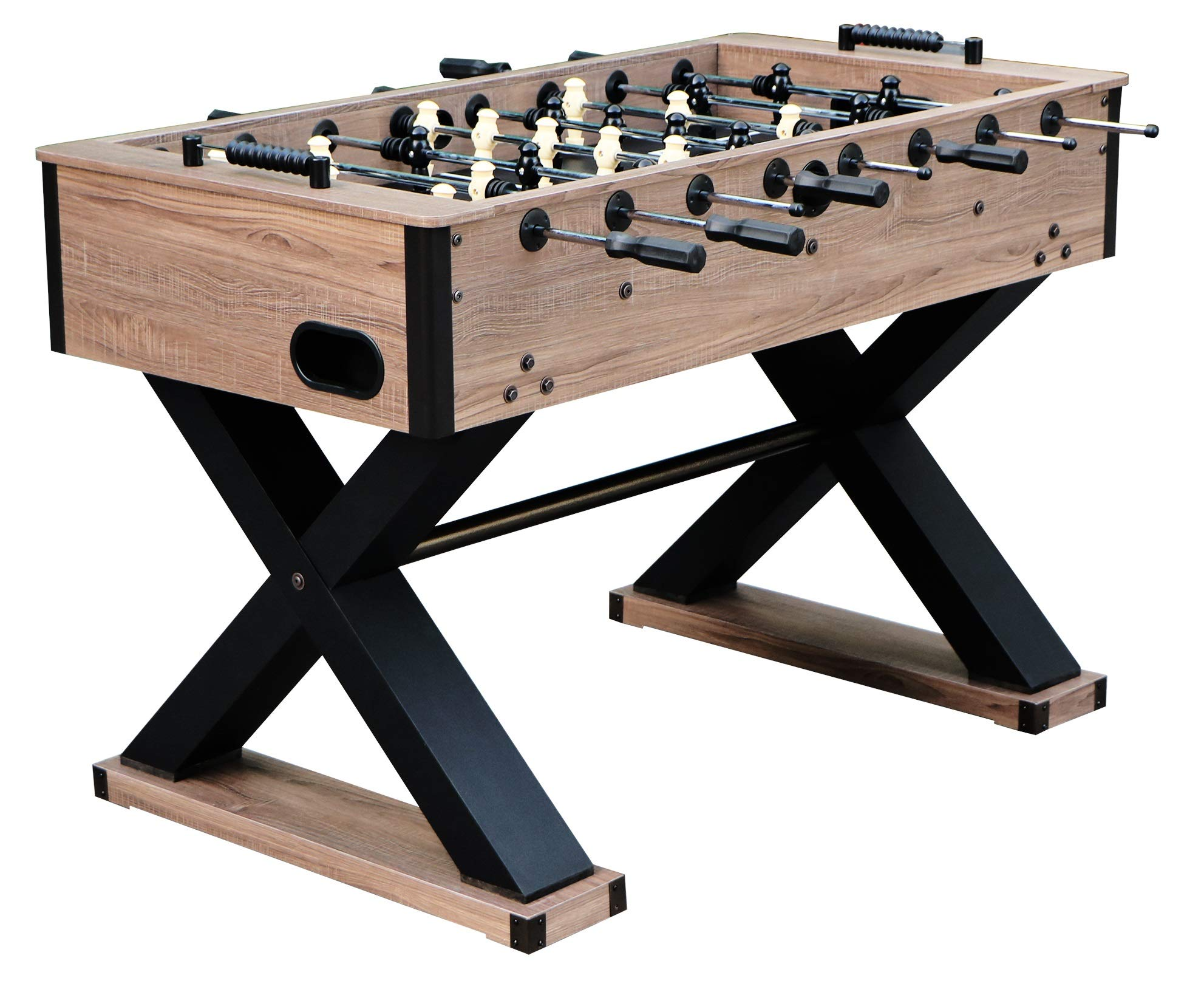 Hathaway Excalibur 54-in Foosball Table, Driftwood by Hathaway