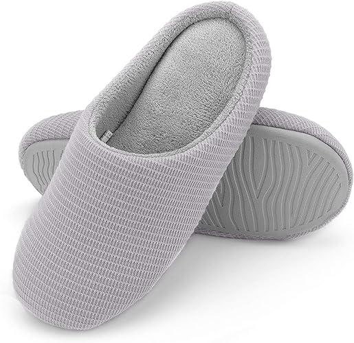 Wishcotton Women's Memory Foam Slippers