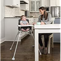 Regalo My High Chair Portable Travel Fold & Go Highchair, Indoor and Outdoor, Bonus Kit, Includes Travel Case and Tray…