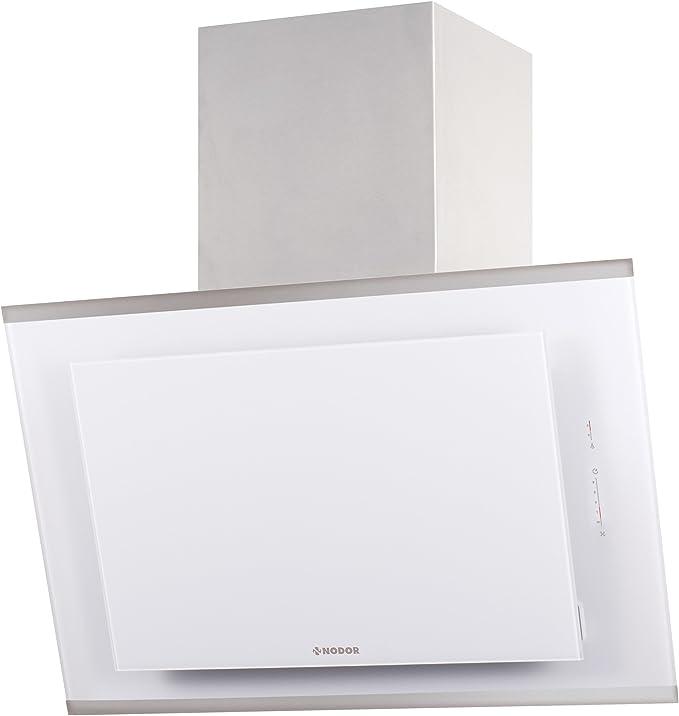 Nodor Nostrum 800 WH 820 m³/h De pared Blanco A+ - Campana (820 m³/h, Canalizado/Recirculación, A, A, B, 64 dB): 381.3: Amazon.es: Grandes electrodomésticos