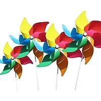 (4 por Paquete) Molinos de Viento de Colores