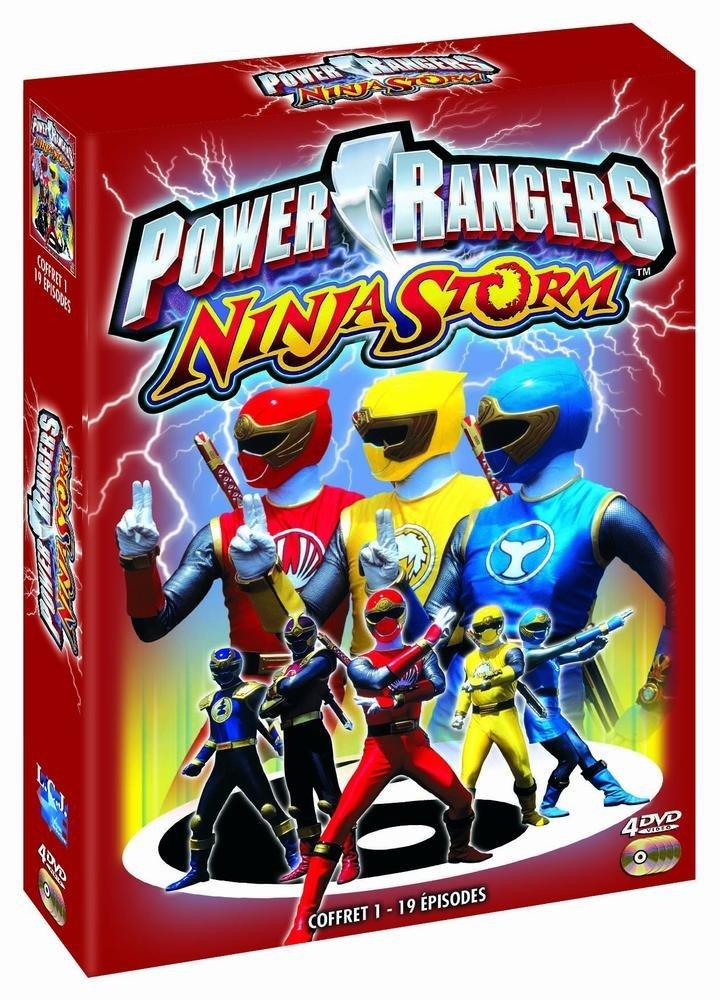 Power Rangers Ninja Storm - Vol. 1 [Francia] [DVD]: Amazon ...