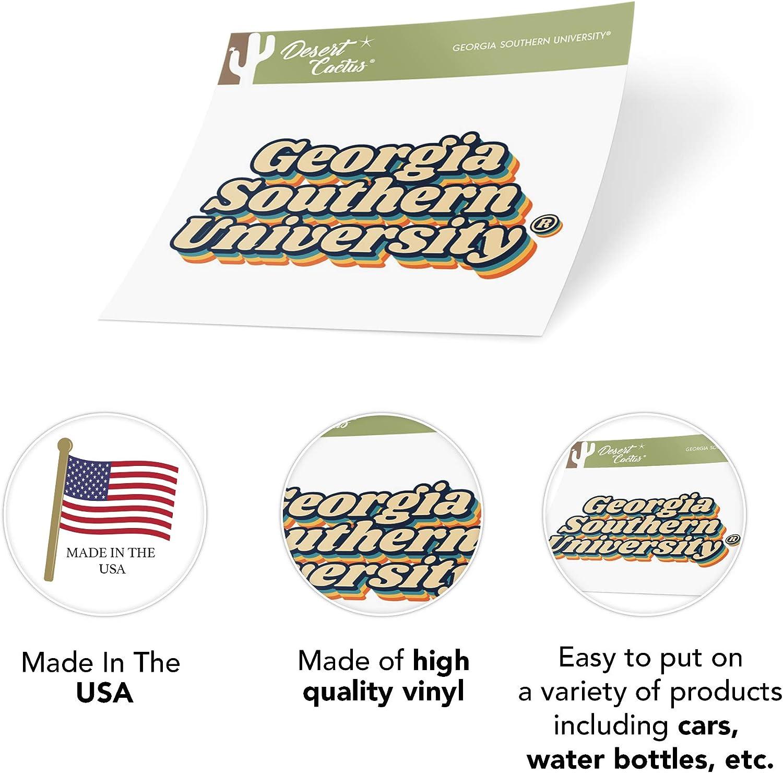 Georgia Southern University GSU Eagles NCAA Vinyl Decal Laptop Water Bottle Car Scrapbook 70s Name Sticker