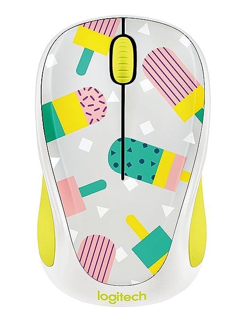 592ea99ceba Amazon.com: Logitech M325c Wireless Mouse 910-004467 Party Collection  Popsicle M325 Mouse: Computers & Accessories