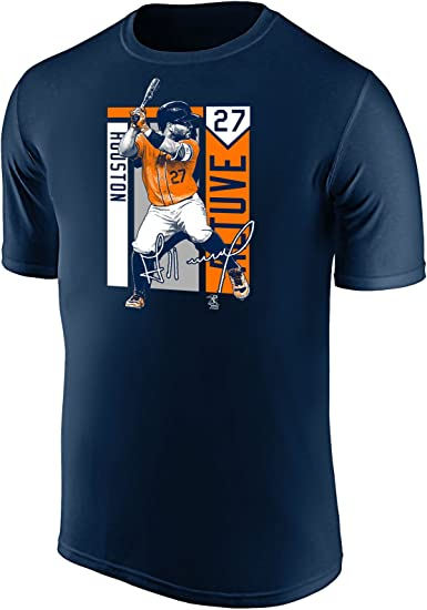 Outerstuff Jose Altuve Houston Astros MLB Boys Youth 8-20 Player Jersey