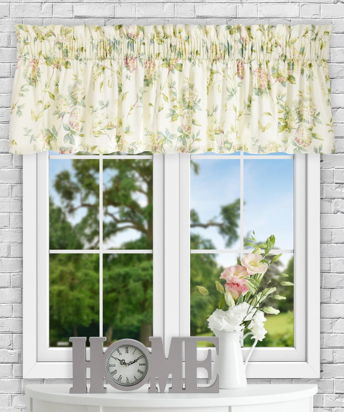 Simple Comfort Abigail Traditional Hydrangea Floral Print Multi