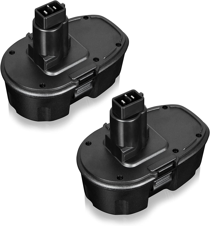 Safebatlle 3.6Ah Replace Dewalt 18V XRP Battery for Dewalt 18 Volt DC9096 DC9099 DC9098 Replacement Cordless Power Tools (2Packs)