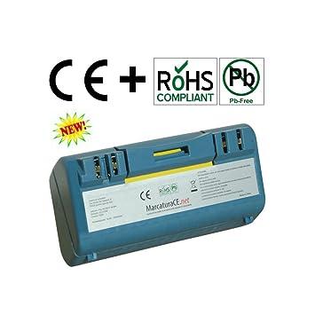 Batería compatible para iRobot Roomba Scooba 5000 MAH 5.0 AH. Modelos: 330 340 350