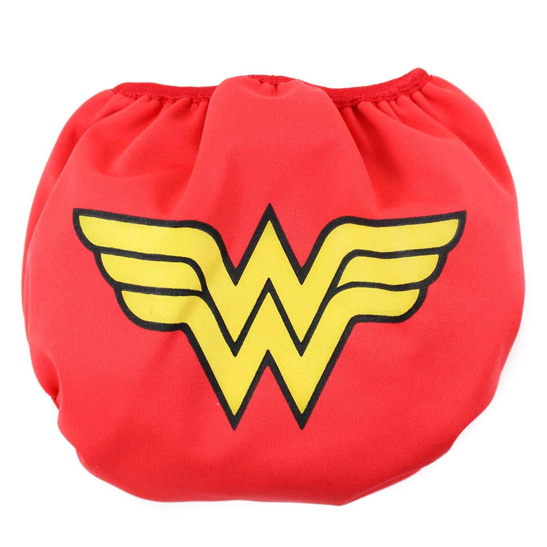 Bumkins DC Comics Reusable Swim Diaper, Batman Print, Small SD-WBBM22-S