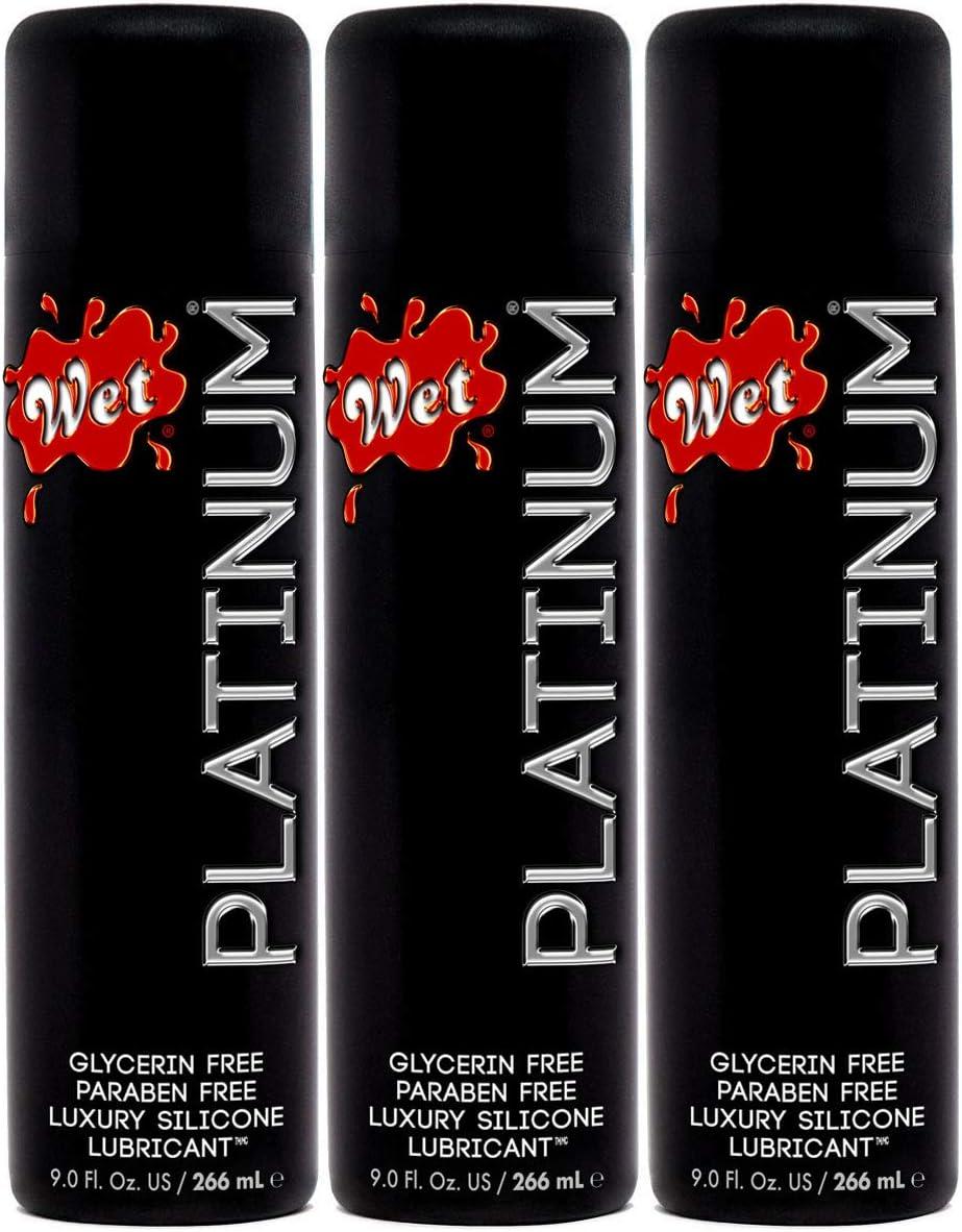 Wet Platinum Premium Personal Lube Silicone Lubricant