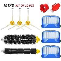 MTKD® Kit Cepillos Repuestos para iRobot Roomba Serie