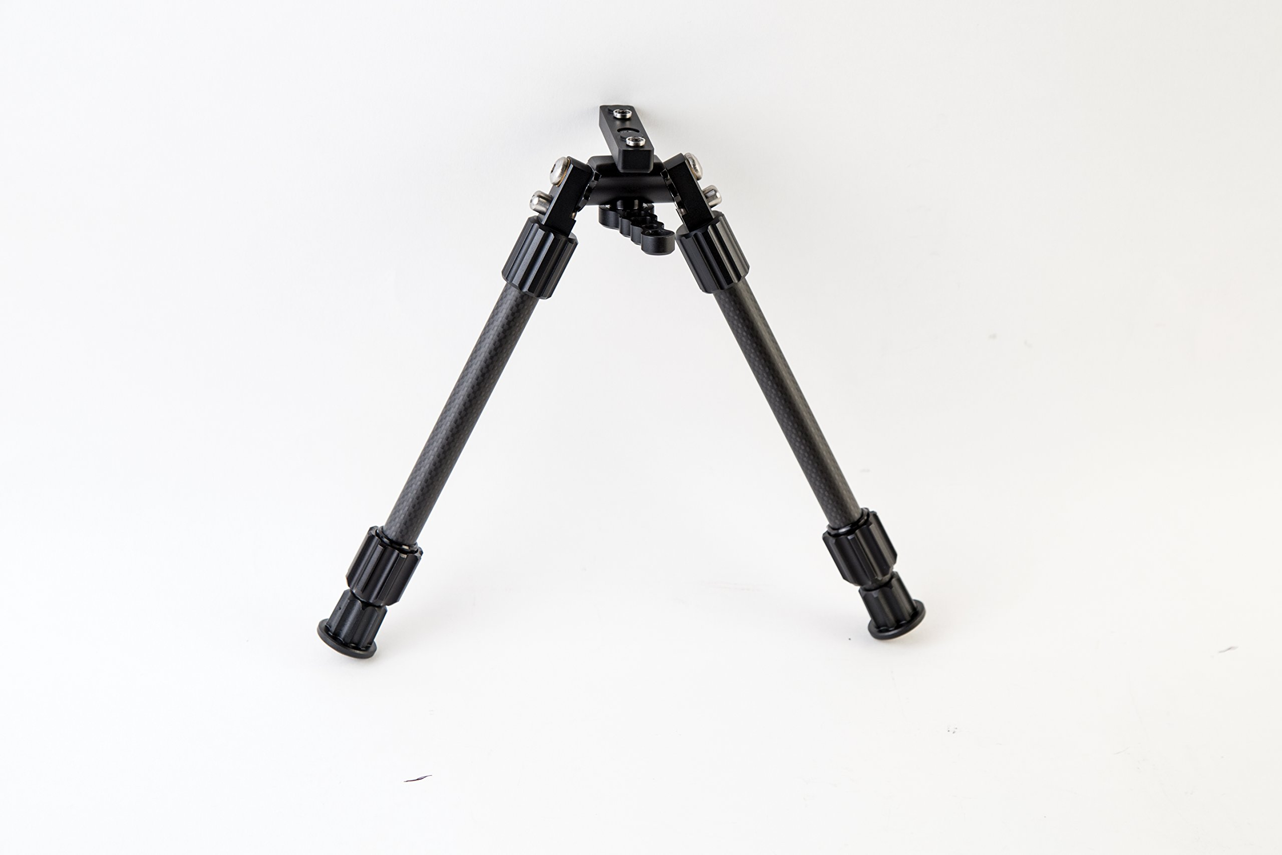 Caldwell Accumax M-Lok KeyMod 9-13 Inch Bipod with Twist Lock Quick-Deployment Legs for Mounting on Long Gun Rifle for Tactical Shooting Range and Sport