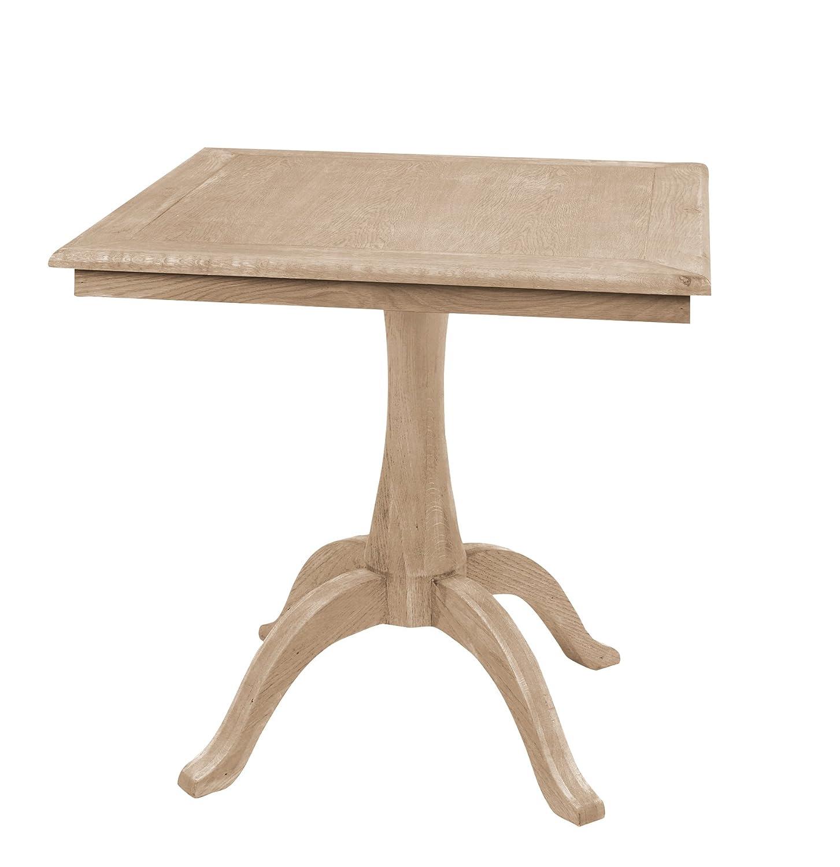 LUGANO Tisch,Eiche geölt,quadratisch 80x80cm,H.78c