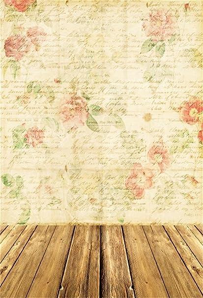 Amazon Com Aofoto 3x5ft Romantic Roses On Vintage Love Letters