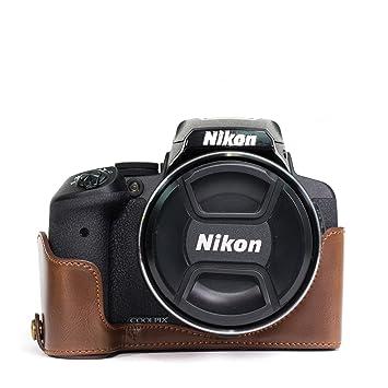 MegaGear MG955 Estuche para cámara fotográfica - Funda (Funda, Nikon, Coolpix P900, Coolpix P900S, Marrón)
