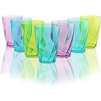 Vasos de Plástico coloreado 450 ml - Set
