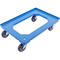 Castor Junta para Euro Standard carro contenedor–Azul–Carrito