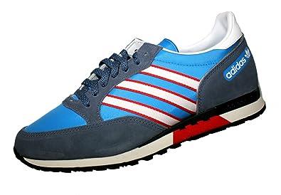 adidas Phantom Q35457 Blau Retro Sneaker Laufschuhe, Größe