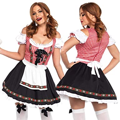 EDTara Mujeres sexy traje de niña de la cerveza Oktoberfest ...