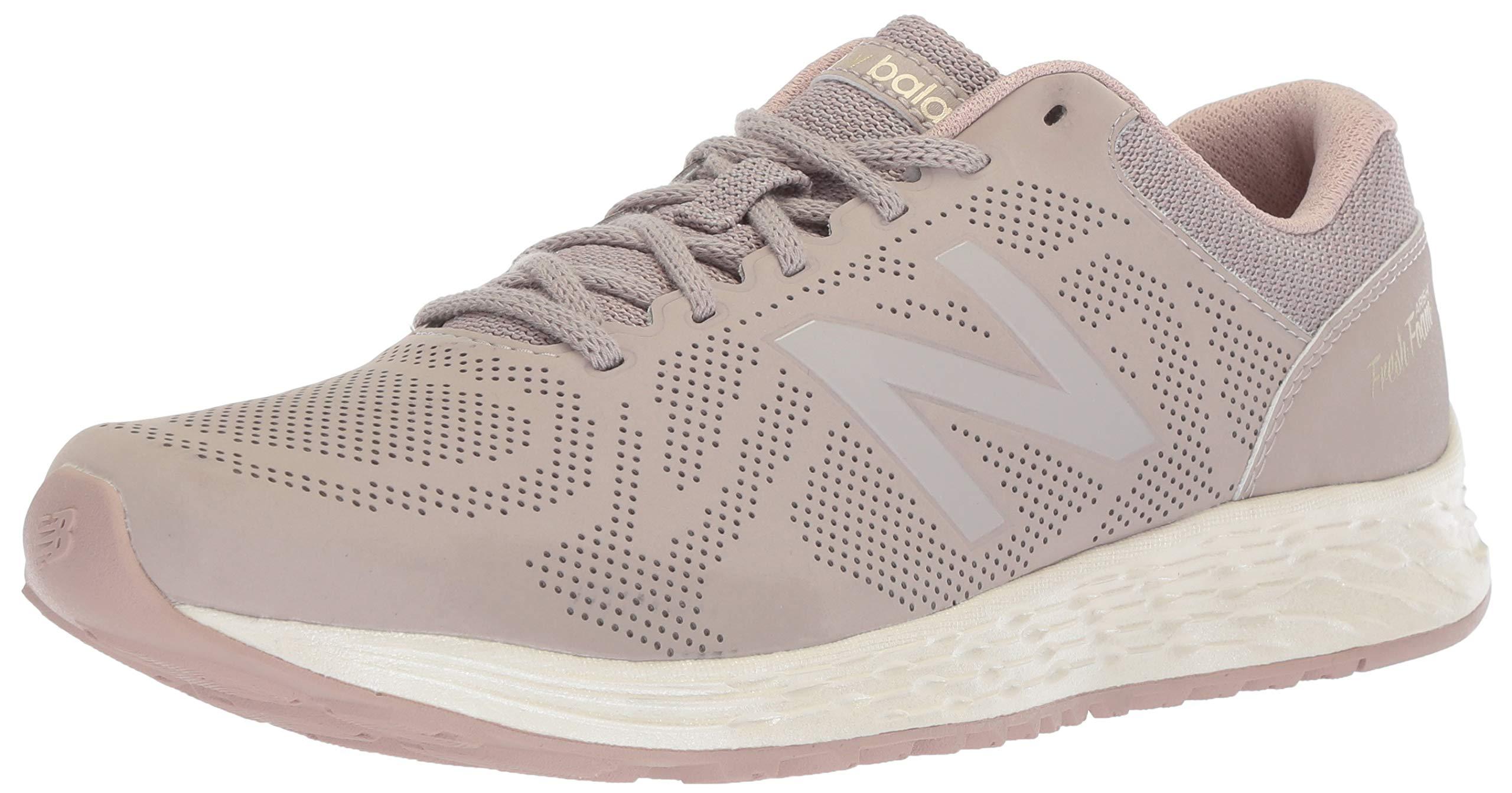 New Balance Women's Fresh Foam Arishi V1 Running Shoe, Flat White/au Lait 5 B US