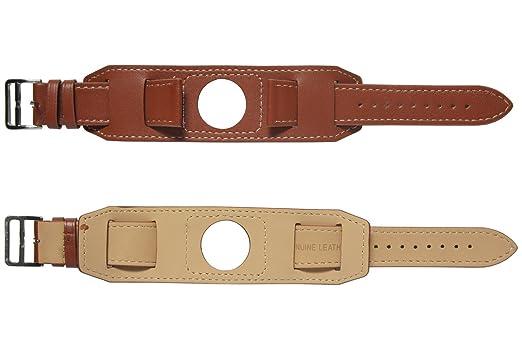 Cuir véritable 22mm bande de montre Cuff Bracelet + outil pour Samsung Gear  S3 Frontier /