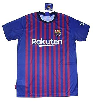 Barcelona Camiseta Réplica Infantil Primera Equipación 2018 2019 - Dorsal  Liso - Producto 76879e6b92a