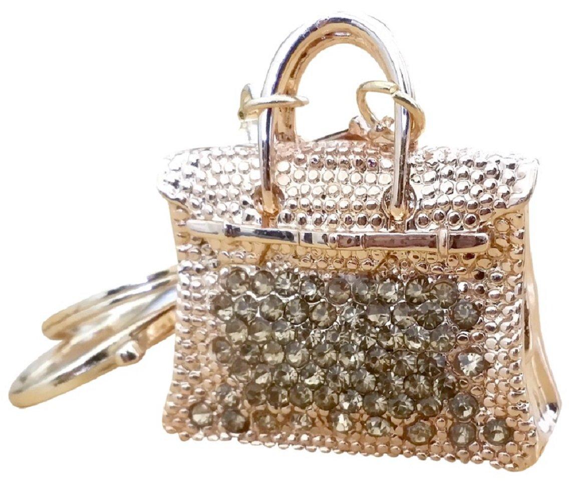 AM Landen Rhinestone Handbag Style Key-chains Handbag Charms Purse Charm Best Christmas Gift Key-chains