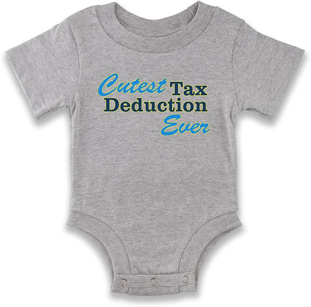 inktastic Tax Deduction Worlds Cutest Girls Baby T-Shirt
