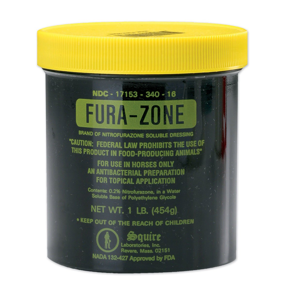 VAN NESS PLASTIC MOLDING Fura-Zone Ointment for Horses, 1 Pound Container by VAN NESS PLASTIC MOLDING