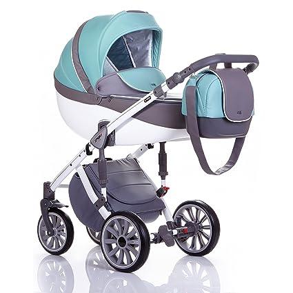 ANEX Baby Sport 2 en 1 nevera cochecito Grey/Marine