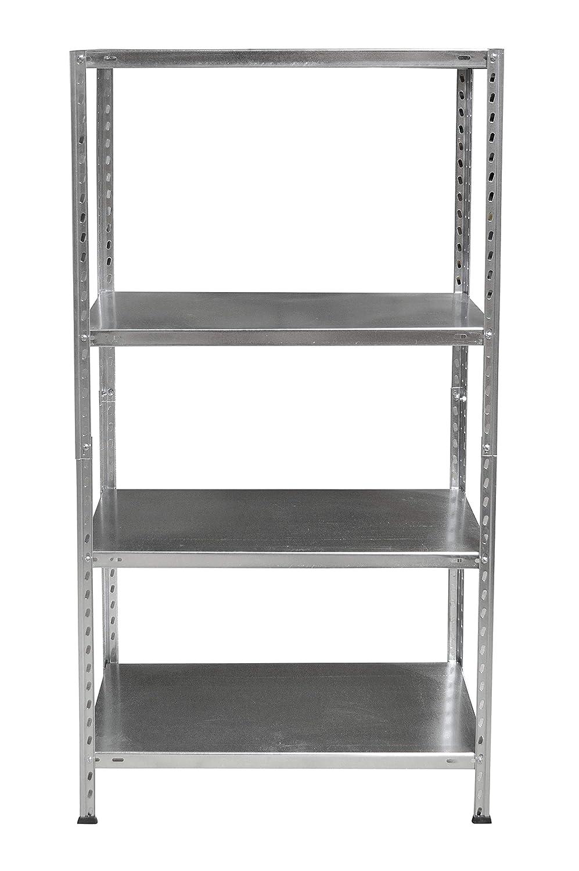 35 X 35 X 154 Cm Aluminio Multicolor Aranaz Estanter/ía