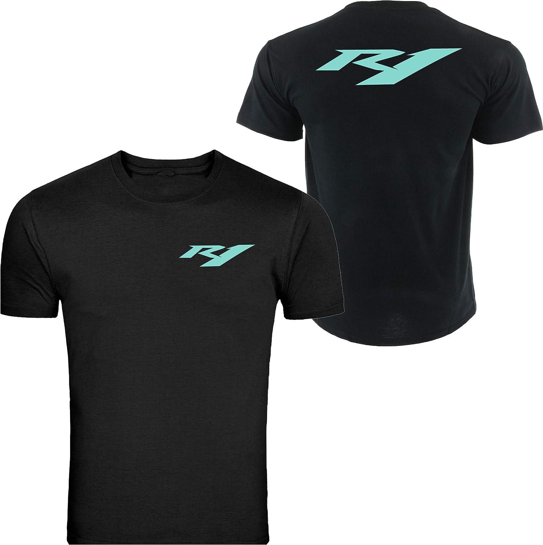 5XL T-Shirt Tee Yamaha Racing Black TEE YZF R1 R6 YFZ Banshee Unisex Black S