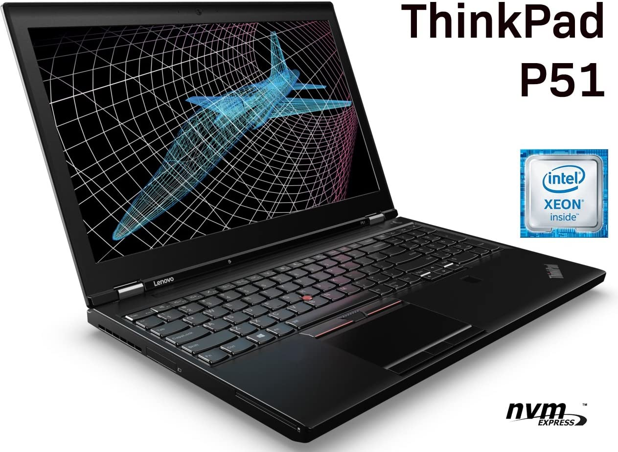 "Lenovo ThinkPad P51 15.6"" Business Laptop: Xeon E3-1505M v6 