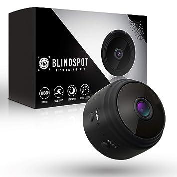 Amazon.com: Blindspot Cámara espía inalámbrica oculta para ...