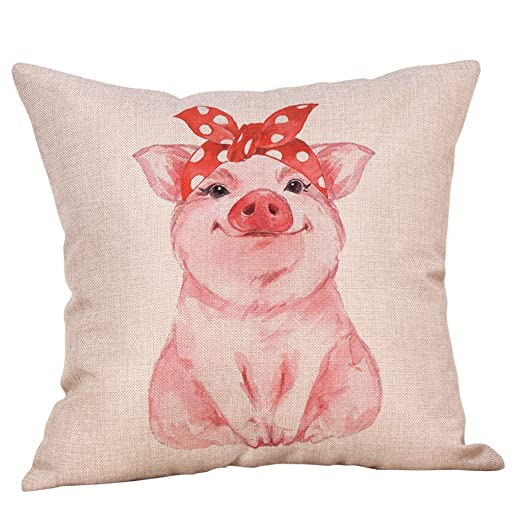 Charm Cat Kitten Throw Pillow Case Cushion Cover Sofa Car Home Office Decor Co
