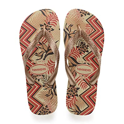 c4f5b82ab69010 Havaianas Spring, Tongs Femme (Sand Grey/New Gold 8765) 35/36