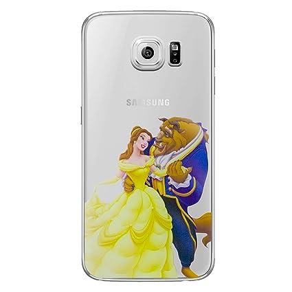 amazon com galaxy s6 edge princess silicone phone case gel covergalaxy s6 edge princess silicone phone case gel cover for samsung galaxy s 6 edge