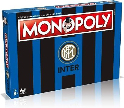 Winning Moves 31493 - Juego de Mesa de Monopoly Squadre de fútbol-Inter: Amazon.es: Juguetes y juegos