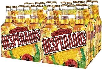 Desperados Cerveza - Caja de 24 Botellas x 330 ml - Total: 7.92 L ...