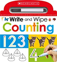 Write And Wipe Counting (Scholastic Early