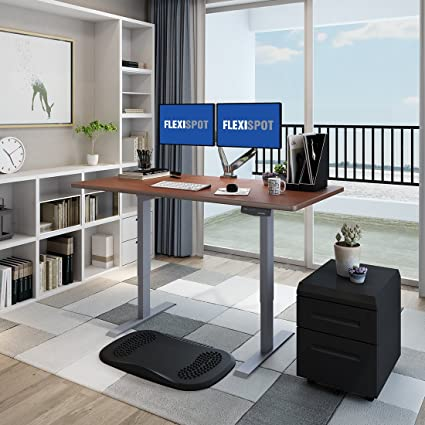 flexispot altura ajustable para escritorio,, Acero Sólido Doble ...