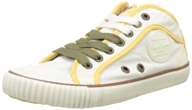 TALLA 36 EU. Pepe Jeans Industry Basic 17, Zapatillas para Mujer