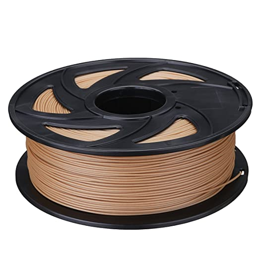 BouBou 75Mm 0.5Kg / 1Kg Filamento Pla Color Madera para Impresora ...