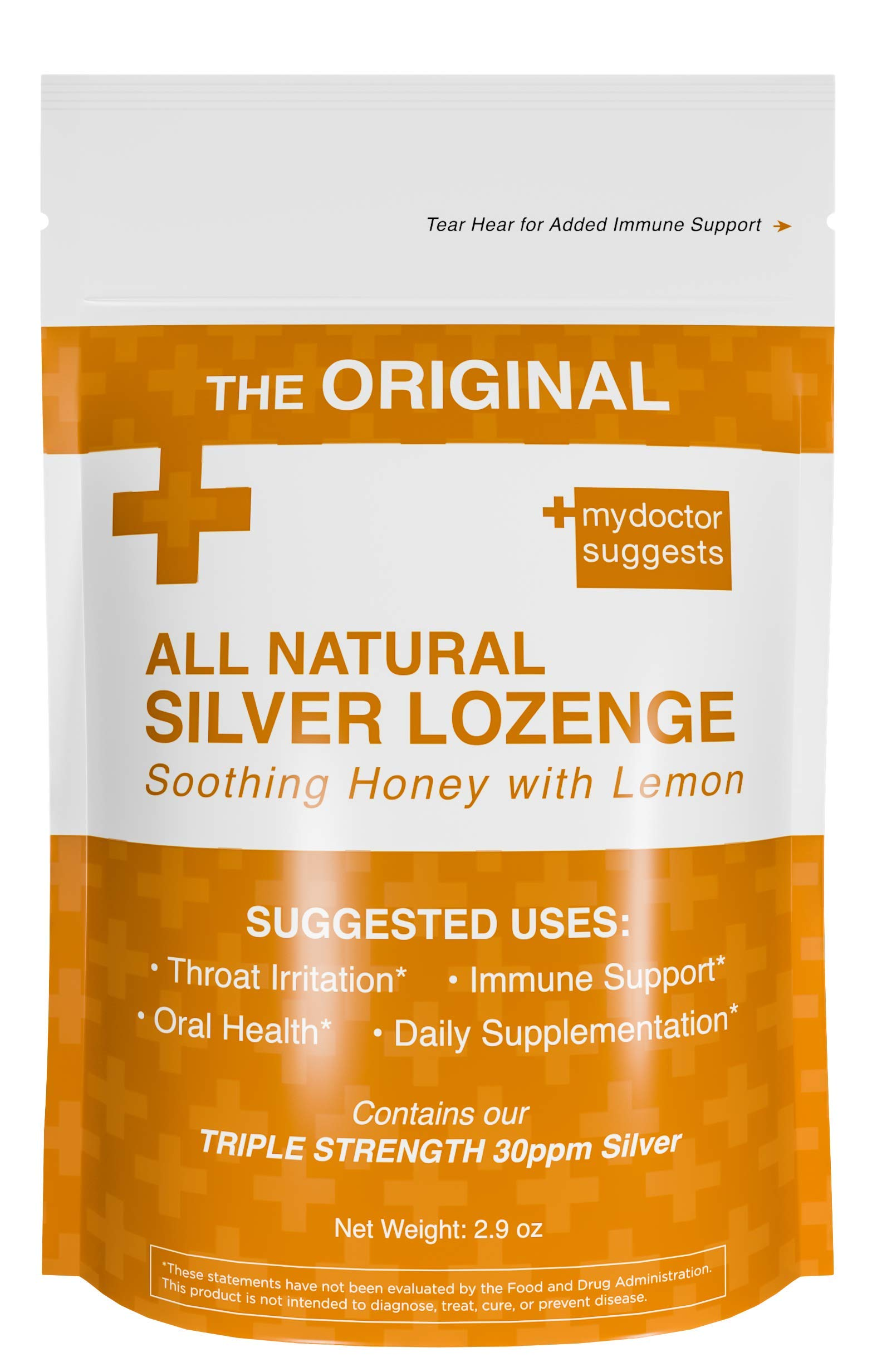 Image result for My Doctor Suggest's Original All Natural Silver Lozenges