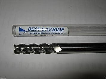 "1//4/"" Diameter 3//4/"" LOC 4 Flute Single End Carbide End Mill USA #16633"