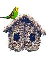 Ntribut Caja De Nido De Pájaros Pájaros Jaulas Jardín Nido De Pájaro Paja De Pájaro Nido