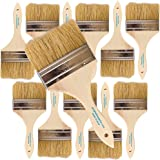 Pro Grade - Chip Paint Brushes - 12 Ea 4 Inch Chip Paint Brush